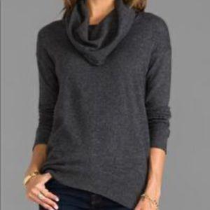 Cyrus turtleneck sweater pullover M gray dark warm